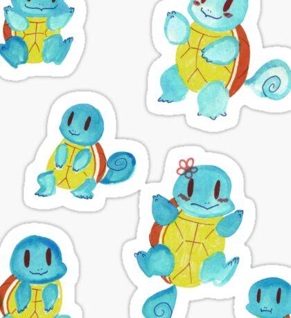 Watercolor Doodles Sticker