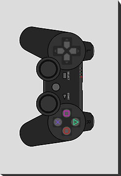 Retro Sony Playstation Game Controller by Chillee Wilson by ChilleeWilson