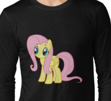 Fluttershy sad Long Sleeve T-Shirt