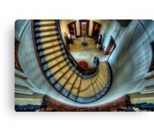 Elizabeth Bay House - Grand Staircase Canvas Print