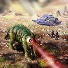 Planet of the Laser Beast by Matt Bissett-Johnson