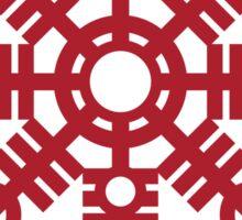Heathen (helm of awe) Chain Wheel Sticker