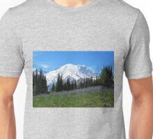 Mt. Rainier from Sunrise Unisex T-Shirt