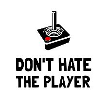 Hate Player Photographic Print