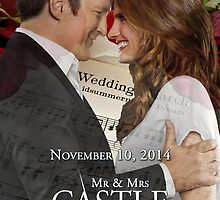 Caskett Wedding by SerePellizzari