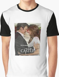 Caskett Wedding Graphic T-Shirt