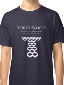 Torchwood; Outside the government, beyond the police Classic T-Shirt