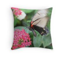 flutterfly Throw Pillow