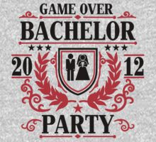 Bachelor Party 2012 Game over by Cheesybee