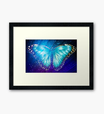"""Butterfly 5 (from """"Butterflies"""" collection) Framed Print"""