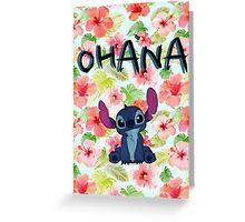 Ohana Stitch Greeting Card