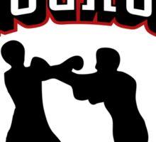 Knockout Sticker