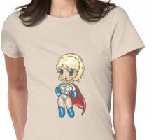 Power Girl - Karen Starr Womens Fitted T-Shirt