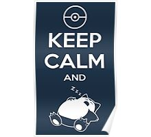 Keep Calm and... zZz Poster