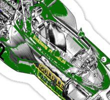 Goldleaf Lotus F1 Car Sticker