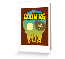 The Goonies Greeting Card