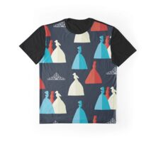The Selection pattern Graphic T-Shirt