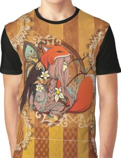 One with Nature Graphic T-Shirt