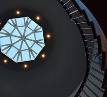 Stair Well Sky Light by Sarah Farooqi
