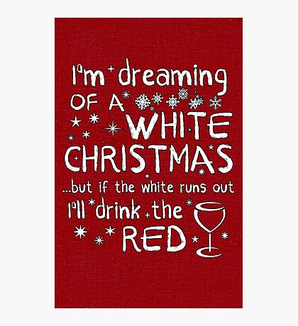 Dreaming Of A White Christmas Photographic Print