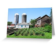 Working Farm in Suffield Greeting Card