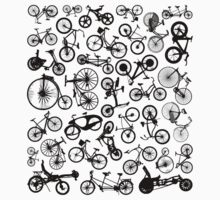 bike bikes Bicycle madness One Piece - Short Sleeve
