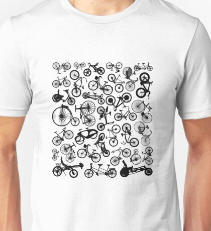 bike bikes Bicycle madness Unisex T-Shirt