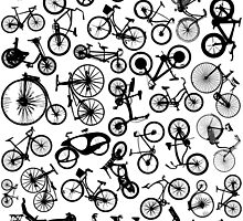 bike bikes Bicycle madness by T J B
