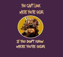 Labyrinth Junk Lady: Look Where You're Going! The Bag Lady Womens Fitted T-Shirt