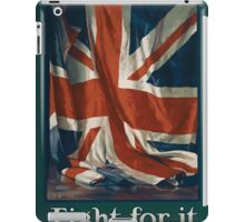 Its our flag Fight for it Work for it 881 iPad Case/Skin