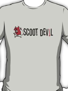 Scoot Devil (horizontal) T-Shirt