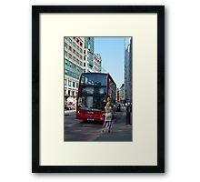 Taxi ! Framed Print