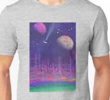 earth to space 1 by pickles Unisex T-Shirt