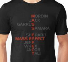The Names of Mass Effect Unisex T-Shirt