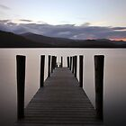 Derwent Water Jetty by Rachel Slater
