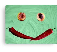 Smile!! ;) Canvas Print