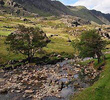 Llanberis Pass by Rachel Slater