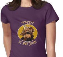 Labyrinth Junk Lady: This is Not Junk! The Bag Lady Womens Fitted T-Shirt