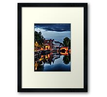Fye Bridge, Norwich Framed Print