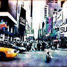 Lost Artist in NYC by KatarinaSilva