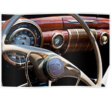 1941 Lincoln Continental Poster