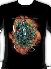 Alien Turtles 'splosion! T-Shirt