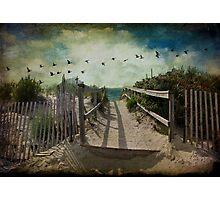 Seaside rendez-vous Photographic Print