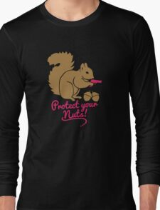 Protect your Nuts Long Sleeve T-Shirt
