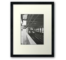 """Leaving 5th Avenue"" Framed Print"