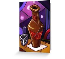 Beer and a Shot Greeting Card