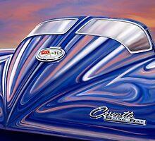 Split Window Corvette Sting Ray by davidkyte