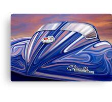 Split Window Corvette Sting Ray Canvas Print