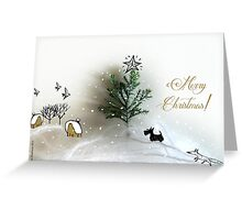 Christmas cards_scott Greeting Card