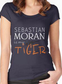 sebastian moran is my tiger Women's Fitted Scoop T-Shirt